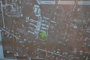 GPS браслет на карте