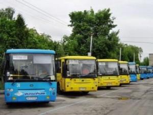 Общественный транспорт с GPS