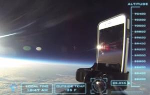 Айфон в Космосе