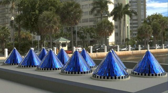 Конусные солнечные батареи