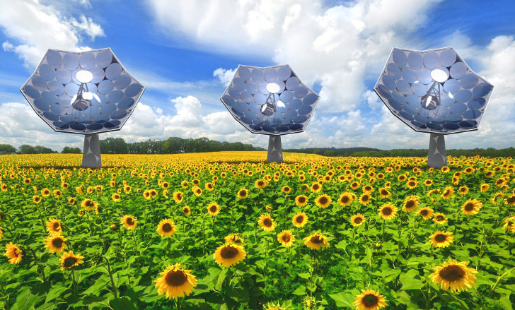 IBM-solar-concentrator